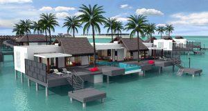 Presidential Water Villa – Emerald Maldives Resort & Spa