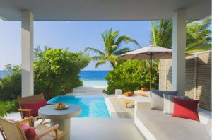 Beach Villa With Pool – Dhigali Maldives