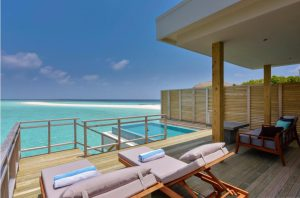 Lagoon Villa with Pool – Dhigali Maldives