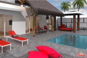 Superior Beach Villa with Pool – Emerald Maldives Resort & Spa