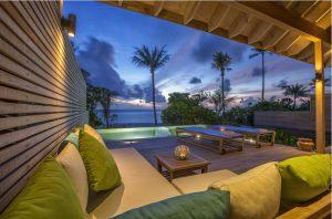 Beach Sunset Pool Villa – Hurawalhi Island Resort