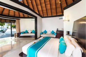 Family Deluxe Beach Villa with Pool – The Sun Siyam Iru Fushi Maldives