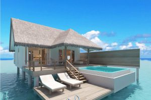 Ocean Suite with Pool – Sun Aqua Iru Veli