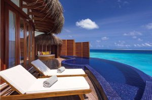 Honeymoon Water Suite with Pool – OBLU Select at Sangeli Maldives