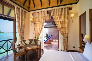 Deluxe Water Villa – Olhuveli Beach & Spa