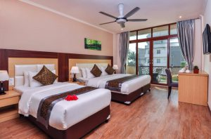 Tripple Room with Island View – Trtiton Beach Hotel, Maafushi