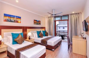 Tripple Room with Pool View – Trtiton Beach Hotel, Maafushi