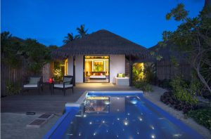 Beach Villa With Pool – Velassaru Maldives