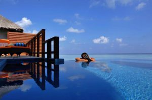 Water Villa with pool – Velassaru Maldives